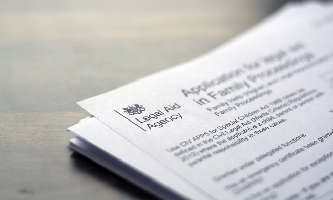 legal aid paperwork